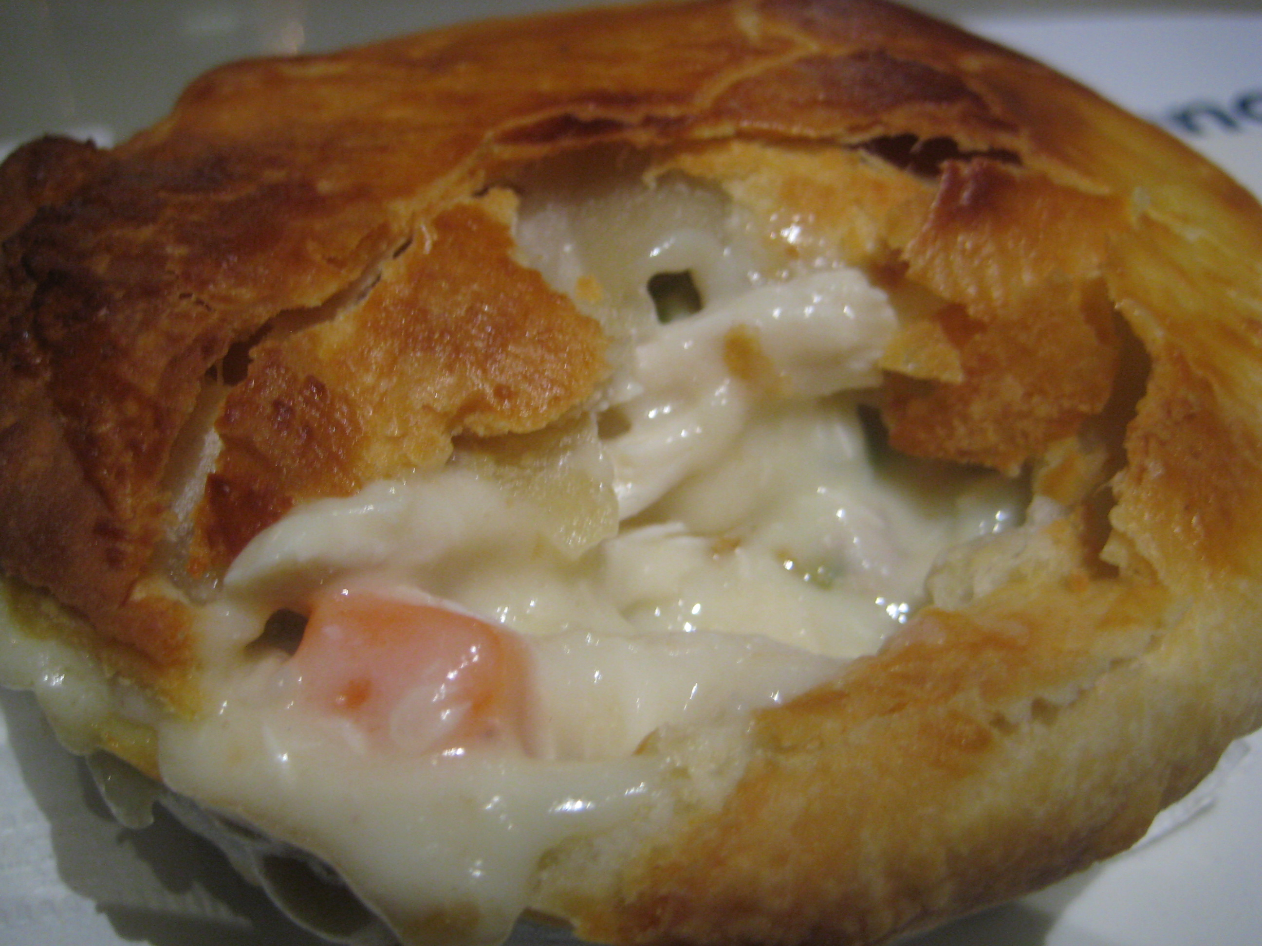 pot pie…yum!