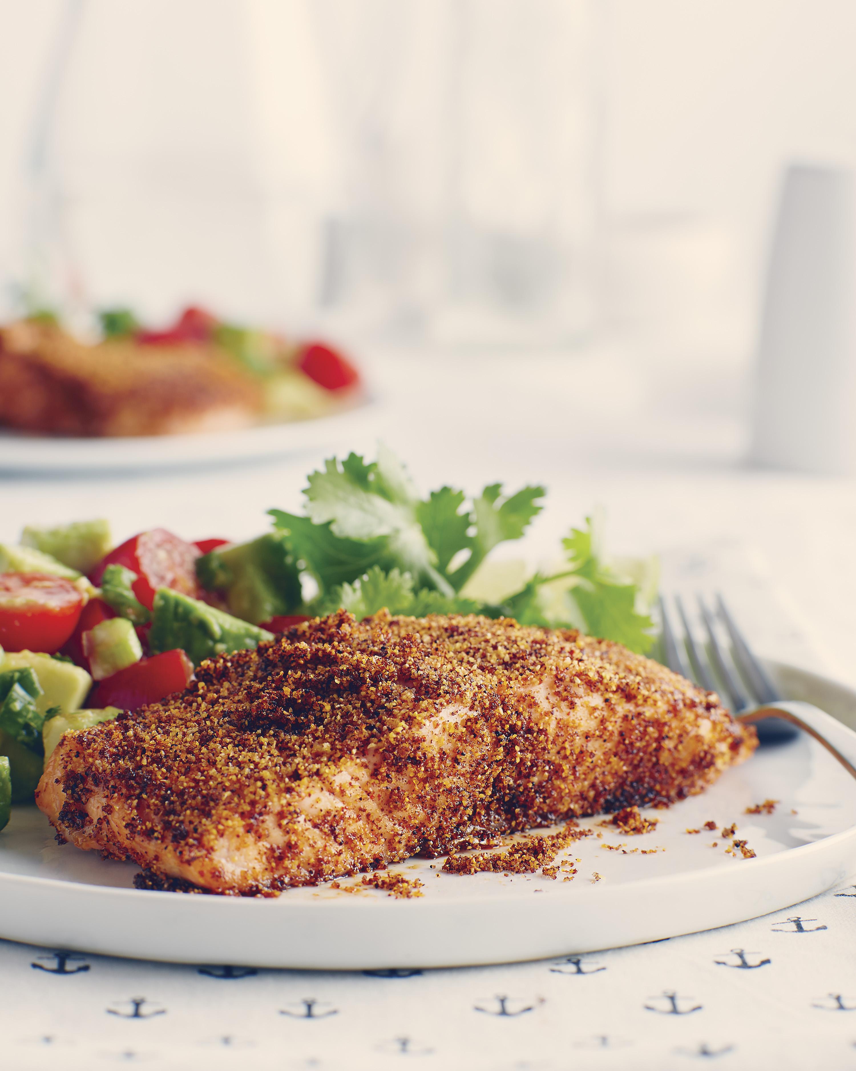 Chili Crusted Salmon