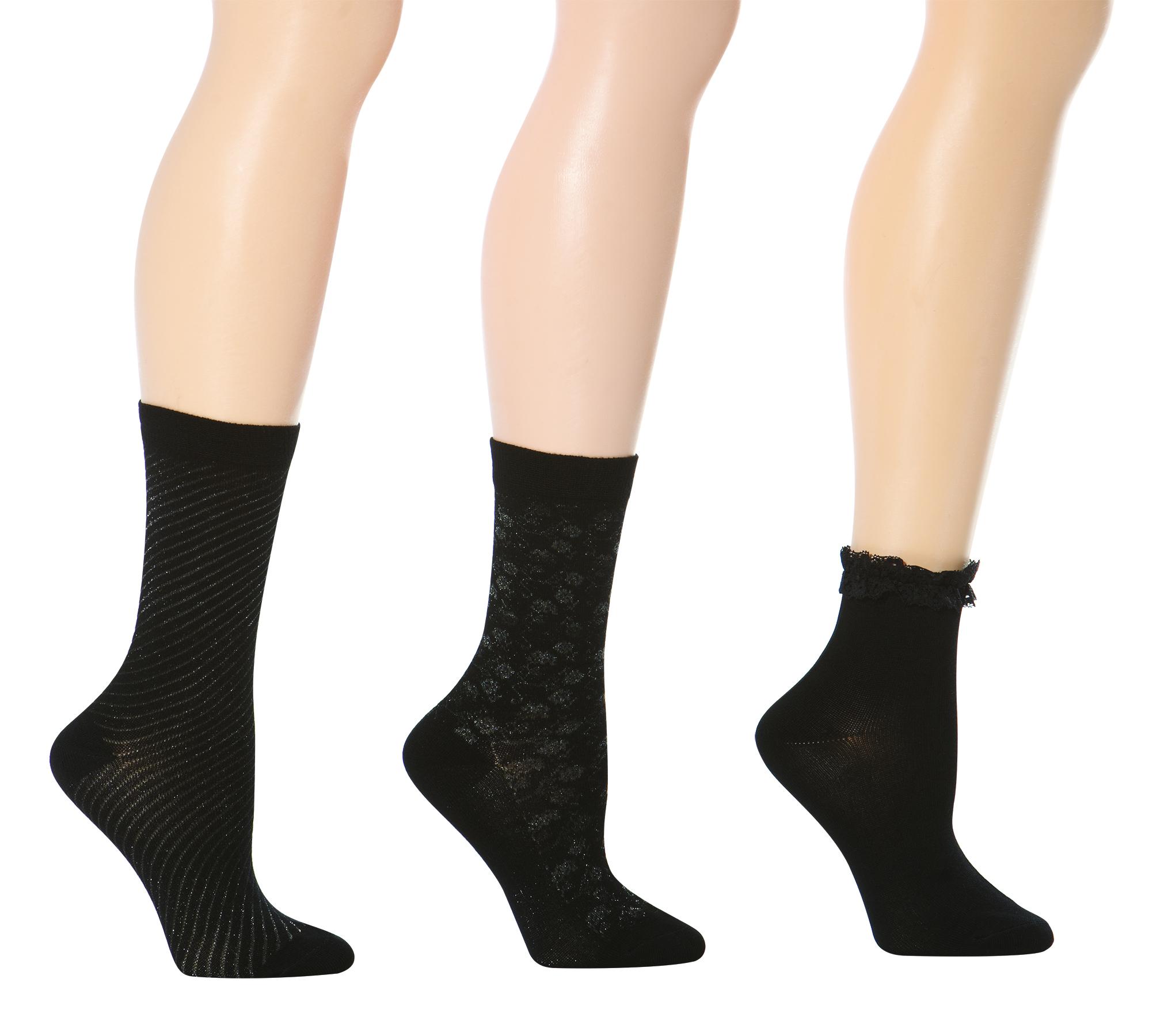 Secret Little Black Sock Collection