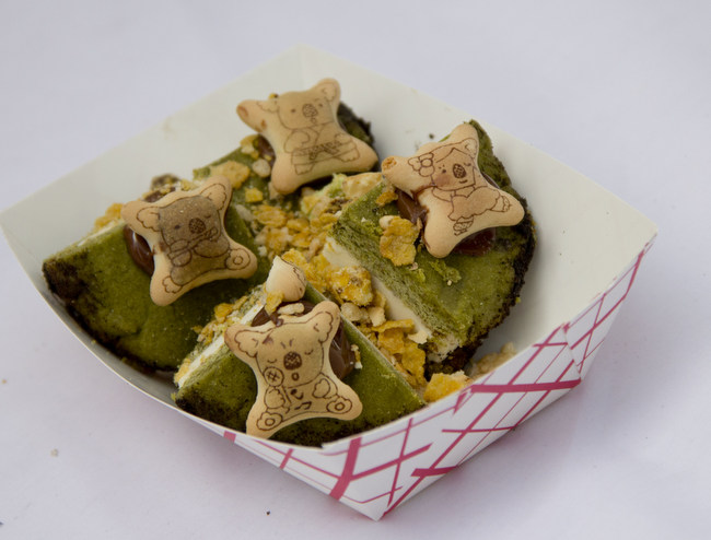 1-Matcha Cookie Icecream Sandwich from Feed My Phonex QQQ Food Journal