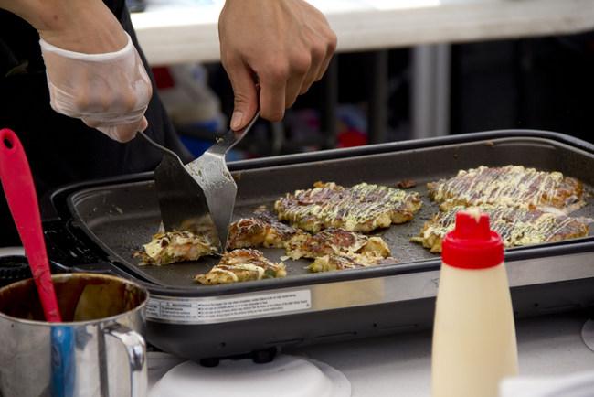 1-Okonomiyaki Pancake from Yakikuza