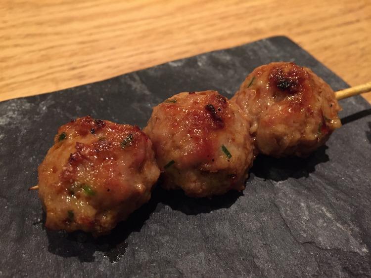 Tsukune ( chicken meatball)