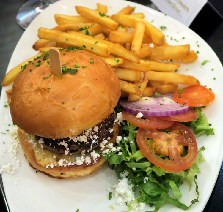 Mediterranean Feta Burger