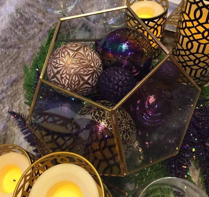 Geometric Holiday Decorations