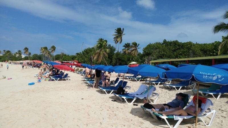 Beach at Sonesta Maho Resort