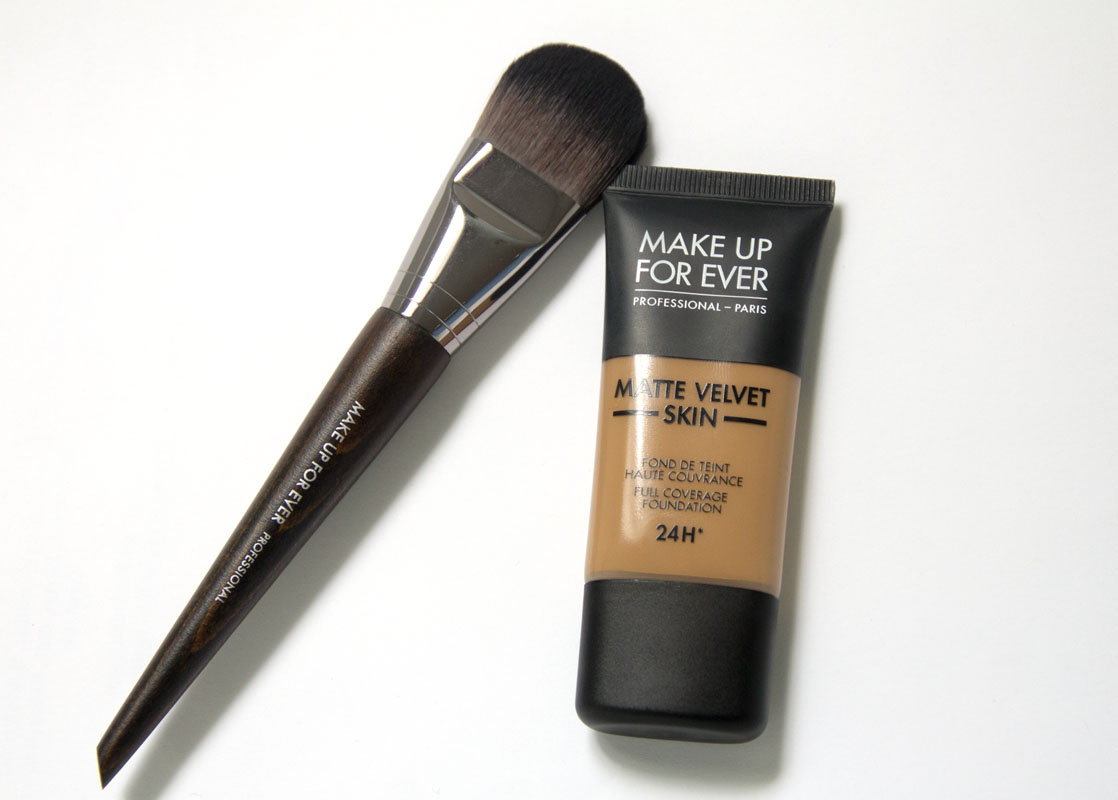Review Makeup Forever Matte Velvet Skin Full Coverage Foundation